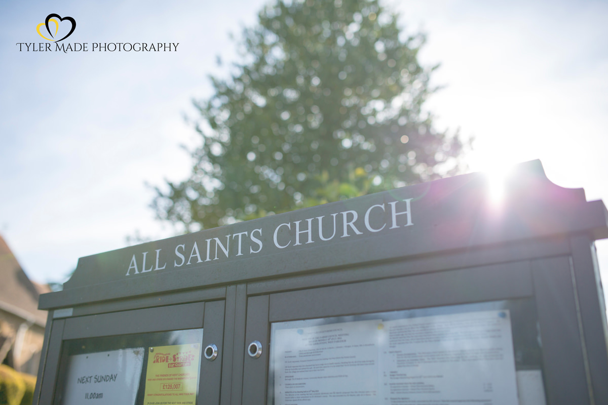 All Saints Church in Maidstone by Kent Wedding Photographer Tyler Made Photography