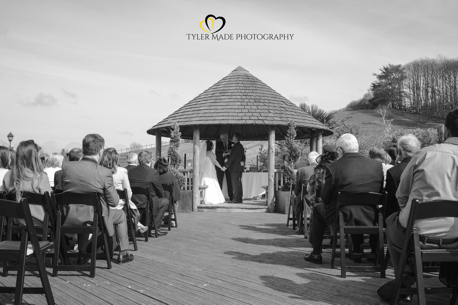 Wedding Vows at The Barn, Upchurch Wedding Venue by Kent Wedding Photographer Tyler Made Photography
