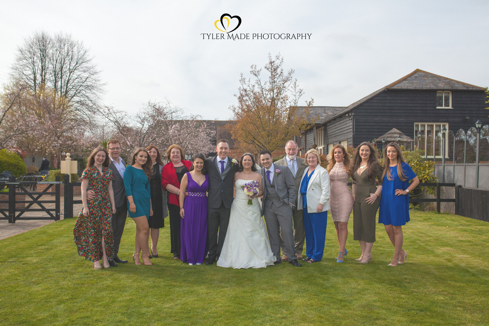 Wedding Guests at The Barn, Upchurch Wedding Venue by Kent Wedding Photographer Tyler Made Photography
