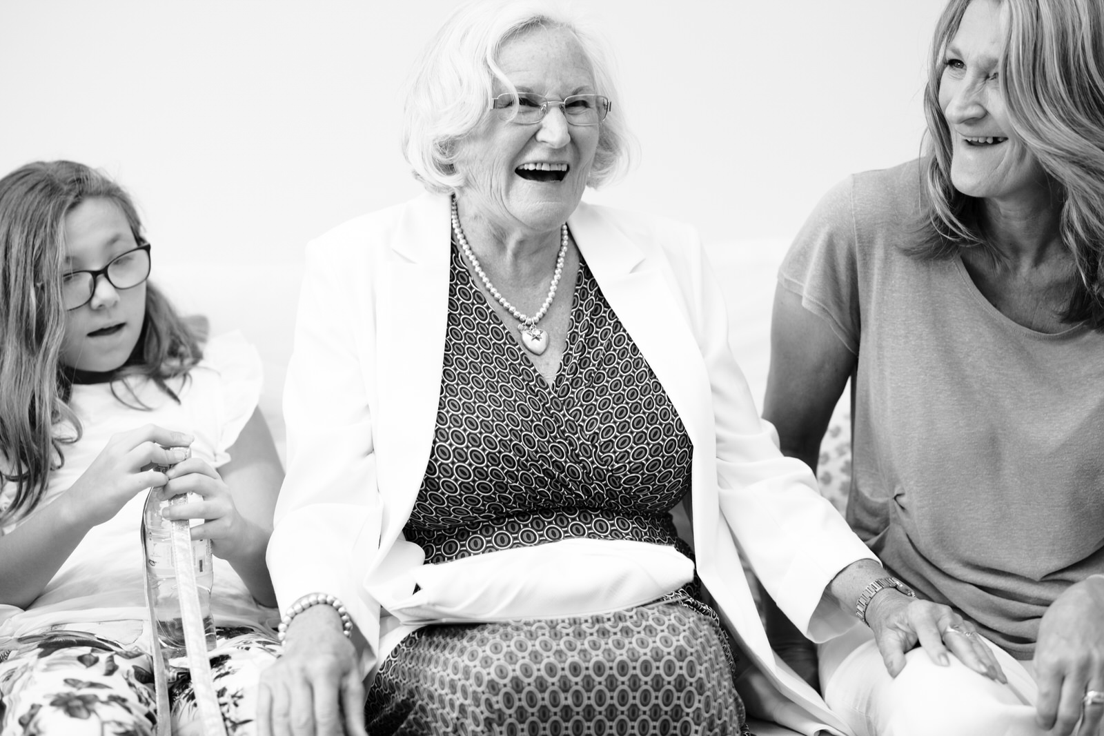 Nan Laughing by Tyler Made Photography