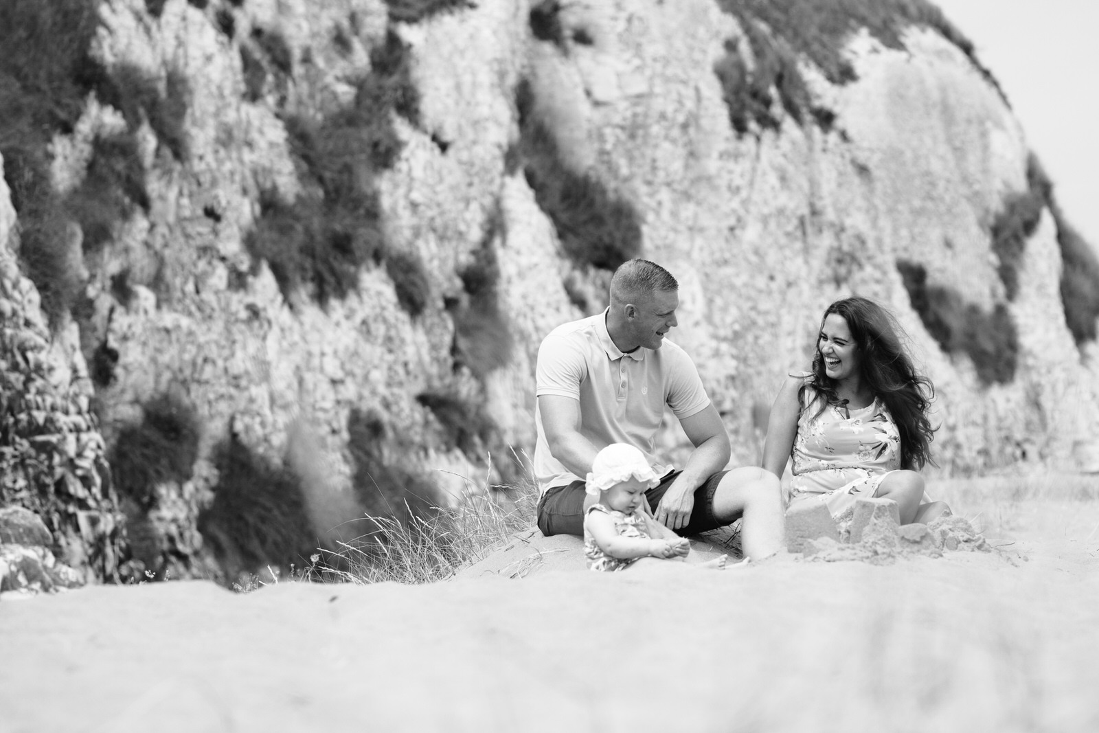 Thanet family on beach by Kent Family Photographer Tyler Made Photography