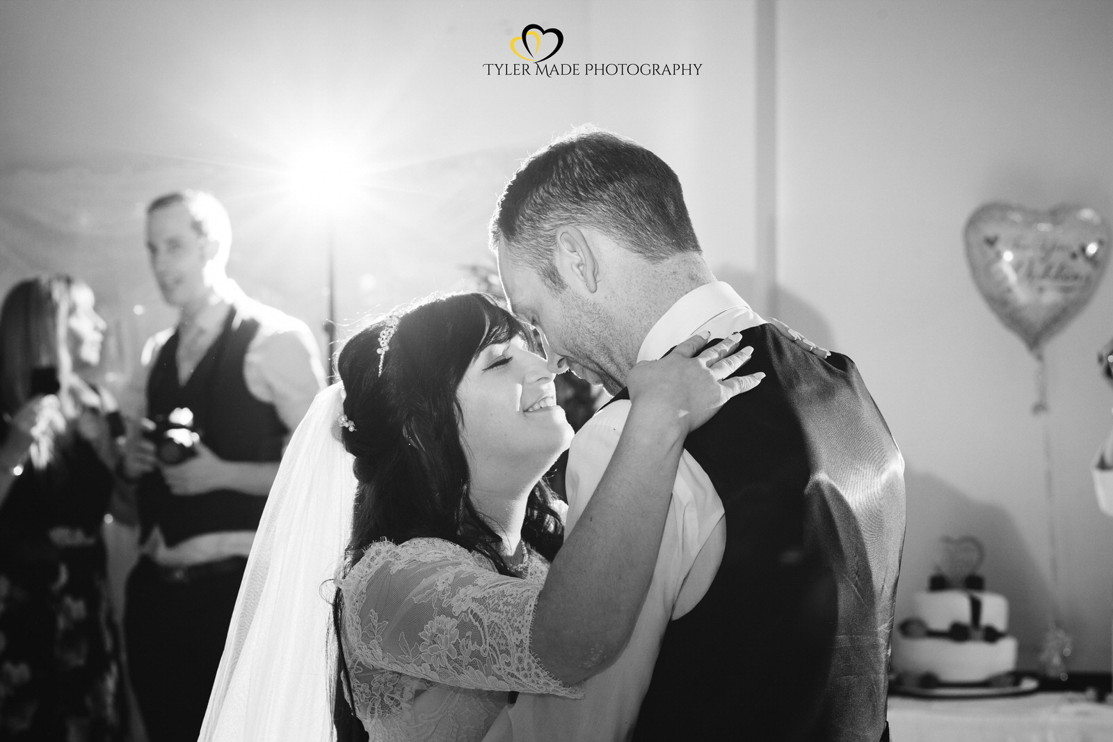 Bride and Groom First Dance at a Kent Wedding by Tyler Made Photography