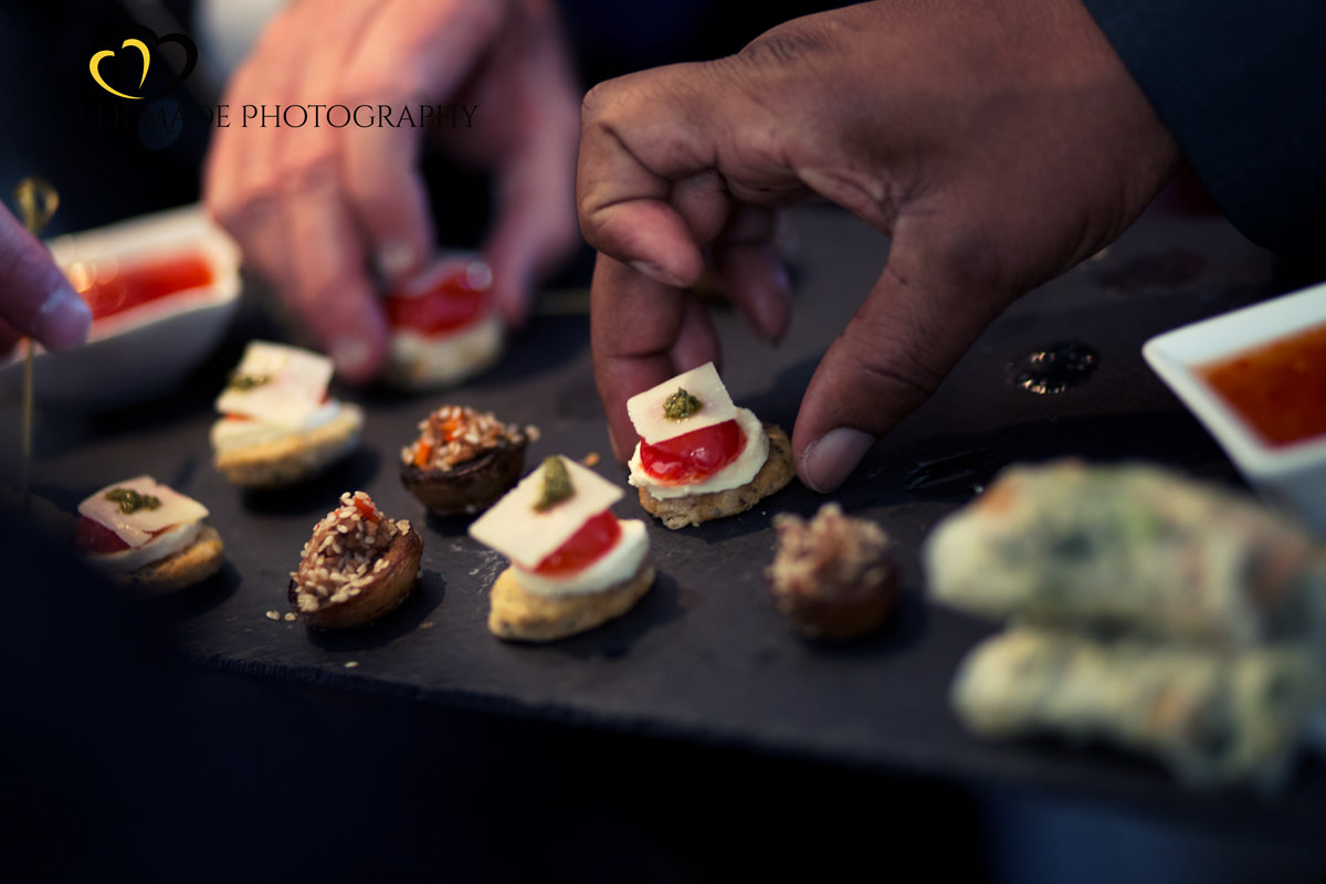 Wedding Food in Putney London image by Tyler Made Photography